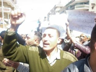 مظاهرات أفراد الشرطة ضد حمدى الديب