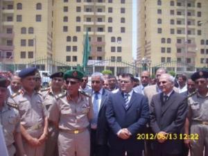 المستشار أشرف هلال واللواء توحيد توفيق و اللواء شريف البكباشي و اللواء فريد الدعوشي