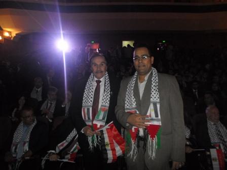 محمد طاحون فى المؤتمر