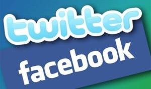 غلق فيس بوك وتويتر