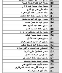 جدول رقم 7