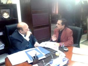اللواء عادل لبيب فى لقاء خاص مع الصحفى مصطفى الشهاوى